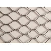China Hand Made Stainless Steel Wire Rope Netting Versatile Oxidize Resisting wholesale