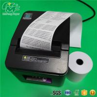 China Black Image Cash Register Thermal Paper Rolls Black Image Grade A Level High Brightness wholesale