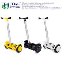 China Dustproof 2 Wheel Self Balancing Scooter 36V 4.4AH Lithium Battery wholesale