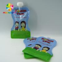 China Custom Reusable Liquid Stand Up Liquid Spout Bags Baby Food Packaging Bag wholesale