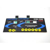 China Light Weight Metal Dome Flat Membrane Switch 5 Colors Printing On Surface Overlay on sale