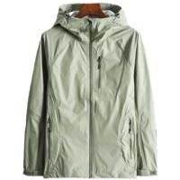 China Fully Seam Taped Waterproof Breathable Coat , Lightweight Rain Jacket on sale
