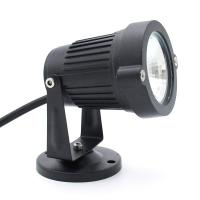 China Adjustable rotate and bottom 7W IP65 LED garden lighting with spike or bottom wholesale