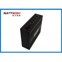 Buy cheap IP40 Industrial Ethernet Switch Din Rail Mount Single Fiber 20KM 1310 / 1550nm from wholesalers