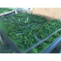 China Trees model material for architectural tourist mountain , display working maquette wholesale