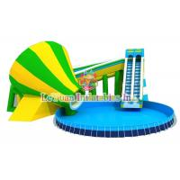 China Multi Color Metal Frame Pools With Galvanized Steel Pipes Easy Assemble wholesale