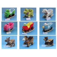 China Baby Rocking Animal Chair Cute Baby Toys Little Mermaid Plush Doll wholesale