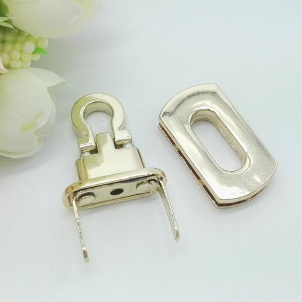 Quality Fine High Grade Metal Swivel Hook , Alloy Zip Metal Small Locks For Bags for sale