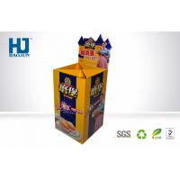 China Retail Bakery Display Stand Cardboard Display Stand for Bread , Pos Cardboard Dump Bins wholesale