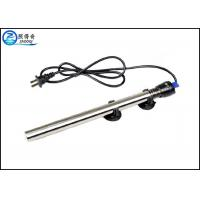 China 100W Submersible 304 Stainless Steel Aquarium Heaters With Double Seal Protection wholesale