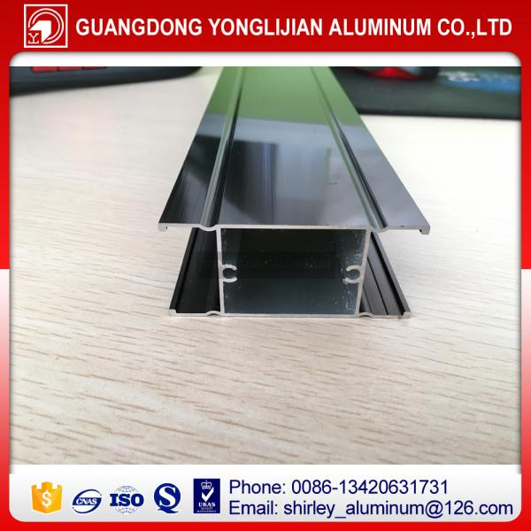 Quality Bronze anodzed aluminium profle for window and door,aluminum window and door design for sale