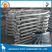 Buy cheap Hot-Dip Galvanized Steel Tube Cattle Free Stall For Dairy Farm 4m Length from wholesalers