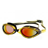 China Clear Vision Most Comfortable Competitive Swim Goggles Polarized Revo Gold wholesale