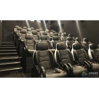China Glittering Adventure Motion Electric Mobile 5D Cinema With Fiber Glass Material on sale
