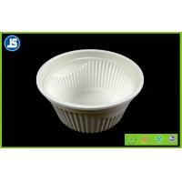 China Eco Friendly Cornstarch Biodegradable Plastic Container , Food Trays wholesale