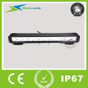 "20"" 120W Cree LED work light bar for truck crane 8100 Lumens WI9011-120"