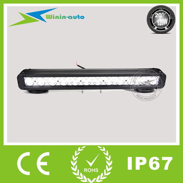 """Quality 20"""" 120W Cree LED work light bar for truck crane 8100 Lumens WI9011-120 for sale"""
