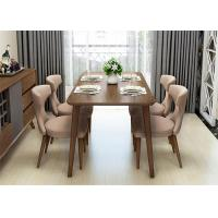 China High End Hotel Dining Table And 4 Chairs , Commercial Square Dining Room Table wholesale