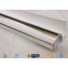 China 0.018 Inch Waterproof Aluminium Foil Fiberglass Fabric Flexible Hose Heat Shield wholesale