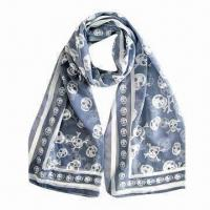 China Women's Long Chiffon Printed Scarves/Shawl/Neckwear, 155x50cm, Fashionable/Soft/Comfortable on sale