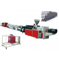 China Twin Screw PVC Plastic Pipe Extrusion Line For UPVC / CPVC Pipe , 400 - 630mm on sale