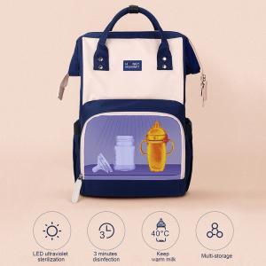 China Large Capacity Nursing Bottle UV Disinfection Diaper Bag wholesale