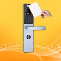 China Waterproof Keyless RFID Card Door Lock 40-150mm Thickness With Touch Screen wholesale