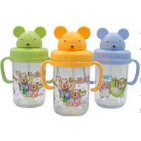 China Portable Eco Friendly Sport Kids Plastic Water Bottles With Cup Holders wholesale