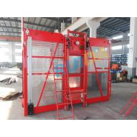 China 0 ~ 63m/min Curved Construction Passenger Hoist for Personnel and material on sale