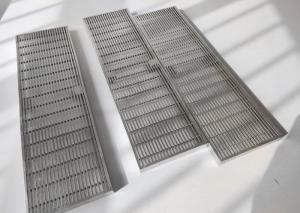 China Rust Resistance 2mm Slot Johnson Wedge Wire Screens 1*2mm wholesale