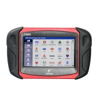 China Heavy Duty Vehicle Diagnostic Scan Tool Car Fans C800 Diesel / Gasoline Lightweight wholesale