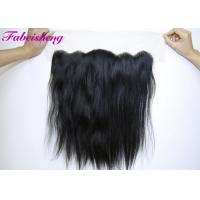 China Brazilian Straight Virgin Hair 13x4 Lace Frontal Ear To Ear Lace Closure wholesale