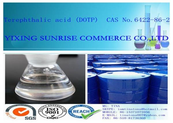 Quality CAS 6422-86-2 Terephthalic Acid Transparent Oily Liquid DOTP Purity 99.0% min for sale