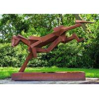 Buy cheap Sculpture Public Art Luxury Stainless Steel Outdoor Sculpture from wholesalers