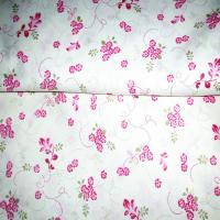 China floral shivering calico fabric for girls skirt 100% cotton 40*40 133*72 57/58 wholesale