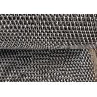 China Straight Rod Balanced Weave Conveyor Belts 304 Staineless Steel For Heavy Load on sale