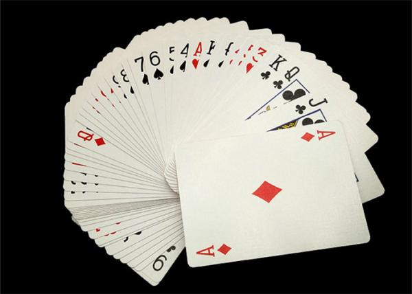 Quality Modern Shuffle Master Casino Playing Cards Thick Paper Printing for Gambling House for sale