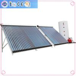 China Aluminium alloy evacuated tubes Split pressurized solar water heaters on sale