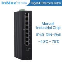 China Factory made 9 ports full Gigabit switch 8* 10/100/1000BaseT(X) PoE switch, Industrial grade network Switch wholesale