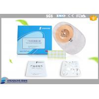 Brown Convex colostomy Bags , ileostomy night drainage bagWith Convenient Fastener System