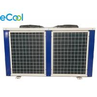 China Bitzer Air-Cooled Cooper Tube Compressor Condensing Unit 5HP Low Temperature on sale