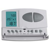 Wall Mount 7 Day Programmable Thermostat Battery Operated For HVAC System