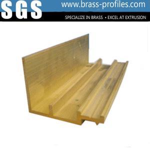 China Golden Yellow Shinning Hardware Door And Window Lock Brass Section wholesale