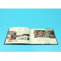 China 400gsm Hardcover Book Printing For Catalogue / Brochure / Magazine wholesale