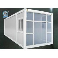 China Oil Station Construct Material Prefab Container Homes With Homelife Equipments wholesale