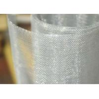 China Aluminum Alloy Bug / Fly Screen Mesh Low Melting Point For Window And Filter wholesale