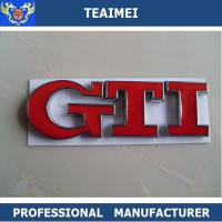 China OEM Welcome Auto Part Body Sticker Car Letter Emblems For GTI wholesale