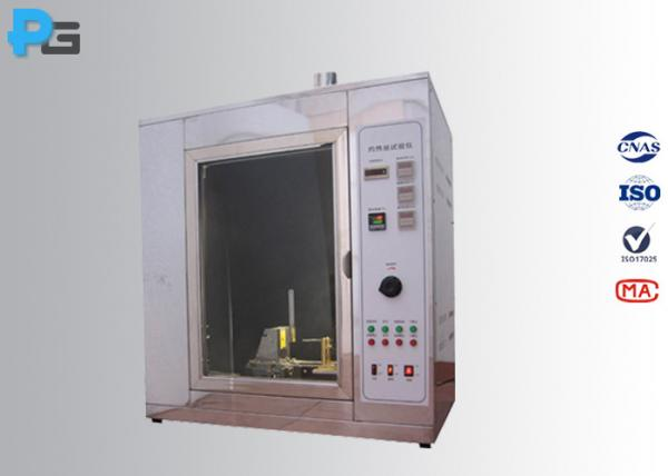 Quality High Precision Electrical Safety Test Equipment , 1000℃ Glow Wire Test Apparatus for sale