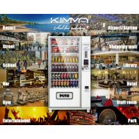 China Outdoor Combo Vending Machine coin operated for drink and snack food , G654 on sale