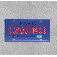 China CASINO Wall Poster Iron Plate Plaque Metal Poster Waterproof Hanging Sign for Shop Cafe Pub Bar on sale